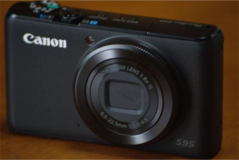 Powershot S95 本体
