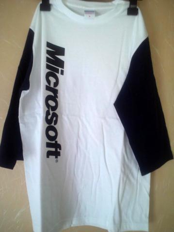 Microsoft ロゴがでかでかと!