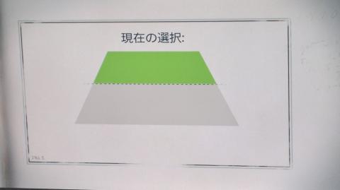 立ち位置を自動で識別し、距離がどの程度確保されているかを示しています。
