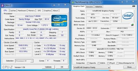 CPU-ZとGPU-Z