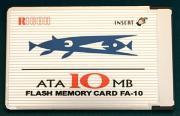 10MBメモリカード