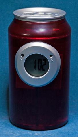 TIME H2O Water BaTTERY Can CLoCK VS-300