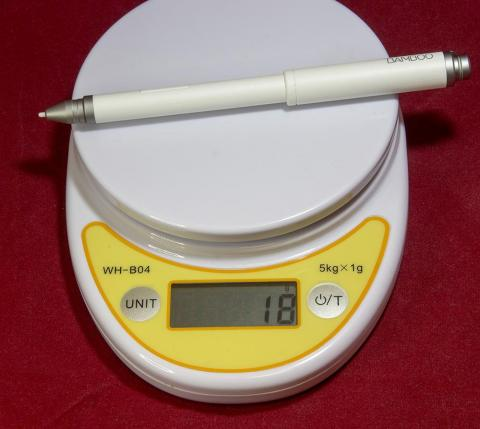 重量:18g