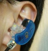 シリコンチップ(チューブ)の方向で判るようにcybercatの外耳道はかなり下向き