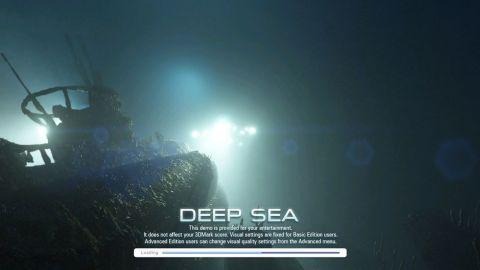 最初のテストDEEP SEA