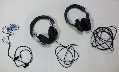 左から「CW-L11」、「Fidelio L1」、「HA-MX10-B」