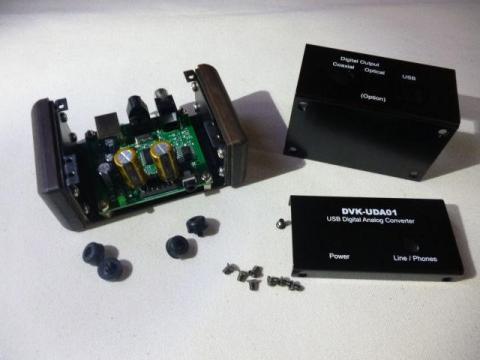 DVK-UDA01を組み込むとこんな感じ