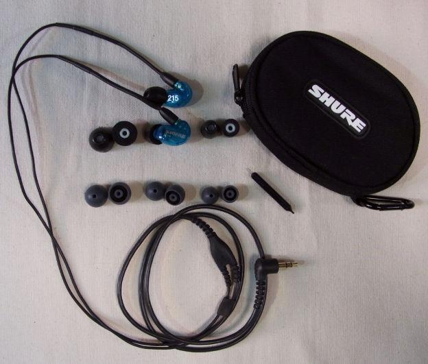 付属品は2種3サイズのチップとケース、耳垢掃除器具。