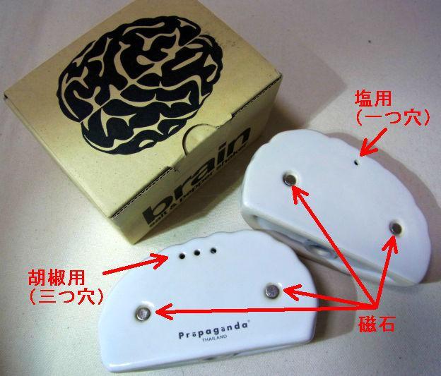 右脳側が胡椒、左脳が塩