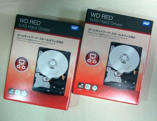 今回もBOX購入...つか最近HDDのバルクってめっきり減ったね