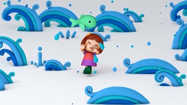 「ちいさな足跡」のPVはアニメーション。NHKの教育番組のよう?
