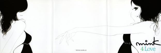 mink活動前半のイメージを決定づけたイラストレーターenaによるCOOLなジャケット
