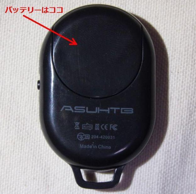 裏から電池を入れる(そーいえばAmazonの写真はなぜか裏が写っているな)。