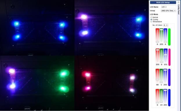 LED発光状態