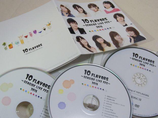 ついに2CD+DVDの豪華3枚組にw
