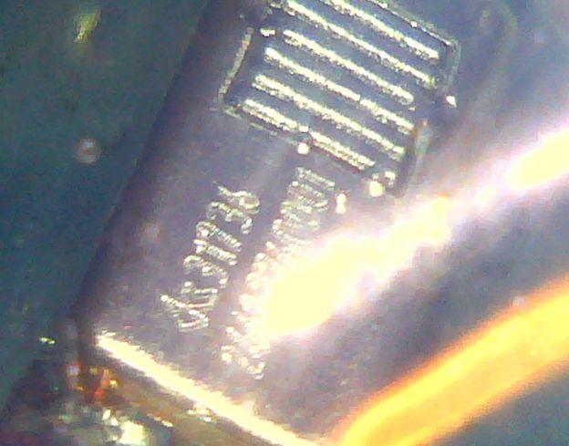 半透明のシリコンCIEMのBAユニットがKnowlesのSWFK-31736-000であることが判明