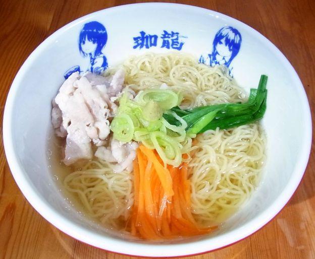 作例:珈龍山葵塩冷麺