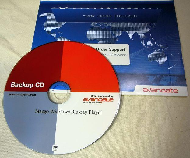 今回セール(Special Offer JP winbdplayer)で安く買えたので、バックアップCDつけてみた。