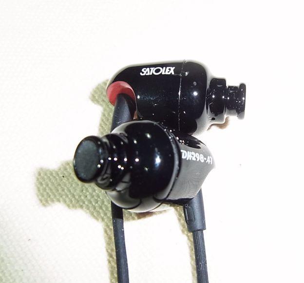 カナル系は5.8mm(実測)。やや太めかな。