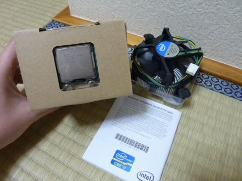 Intel Core i7-2700K のパッケージ内容
