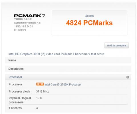 PCMARK7 - 4824