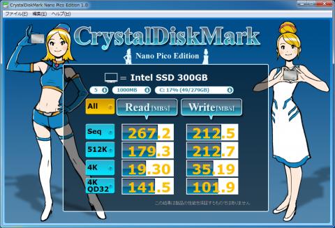 CMD Intel SSD 320 300GB