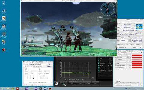 i7-2600K (HD 3000) CPU 30~32度 GPU 47度 (C)SEGA