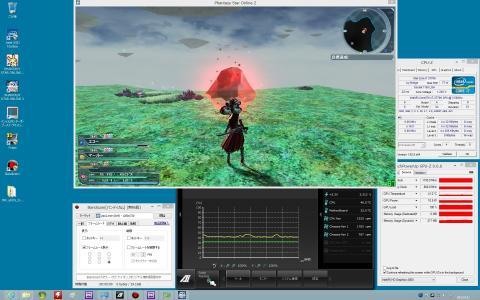 i7-3770K (HD 4000) CPU 40~47度 GPU 41~48度 (C)SEGA