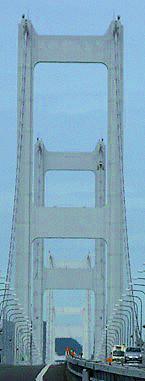 上の写真の赤枠部:橋脚の中に橋脚