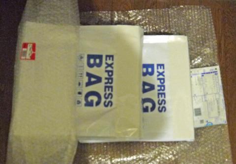 二包装袋に一梱包