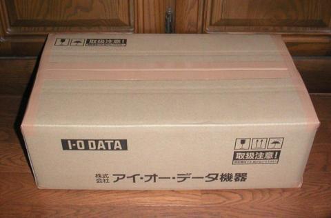 アイオーデータ専用の梱包