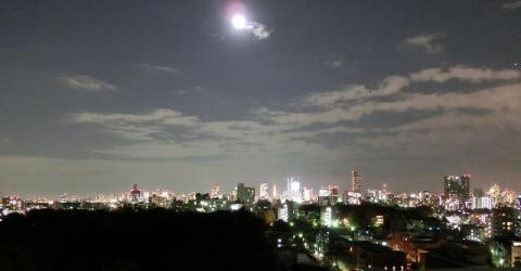 某所から見た夜景