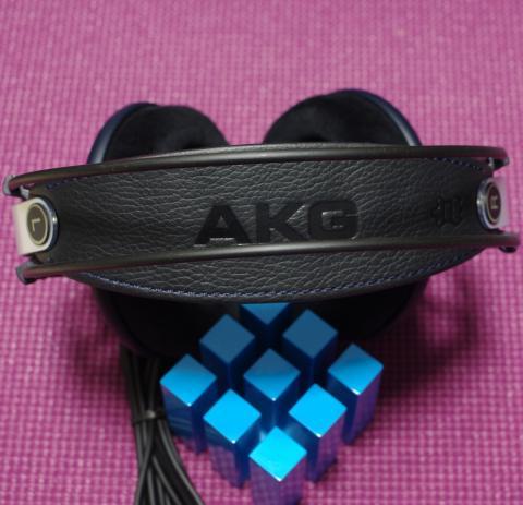 AKG K702 ヘッドバンド表側