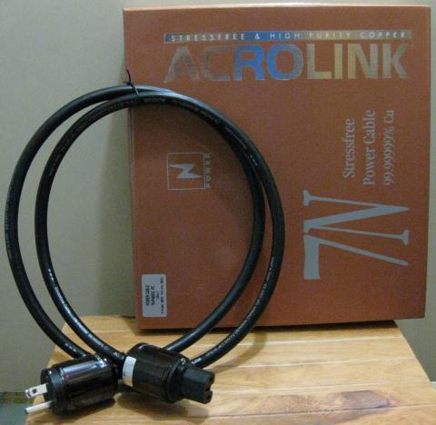 アクロリンク 3Pタイプ電源ケーブル (1.5m)ACROLINK 7N-P4020III 7N