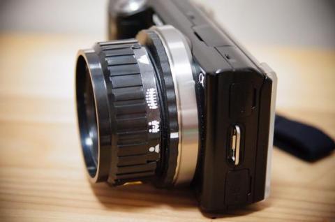 HOLGA 25mm 側面