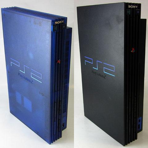 青(SCPH-37000L)と黒(SCPH-15000)
