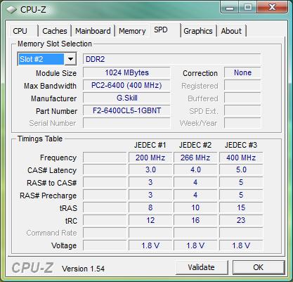 SPDだと型番はやっぱりF2-6400CL5S-1GBNTになっている。