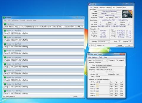 Prime 95 4.67GHz