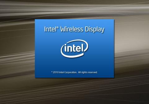 Intel Wireless Display 起動