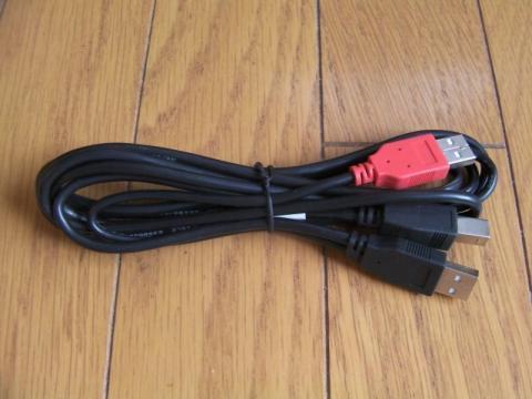 Y字型USBケーブル
