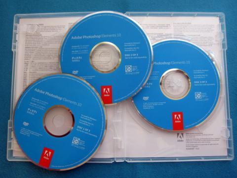 【ソフト】 3本組、1はWin版、2はPremiere体験版、3はMac版が入ってます