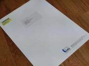 Linksさんからの封筒