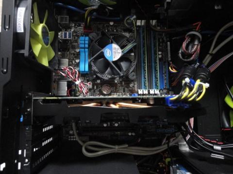 PC内部全体写真です
