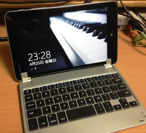 なかなか良いでしょ Lenovo Miix28がMacBook風になりました(^^♪