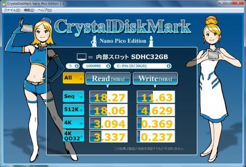内部スロット SDHC32GB