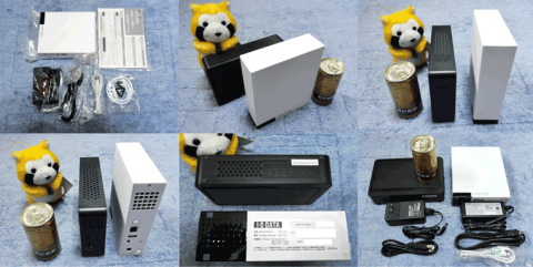 HDL-CE1.0の外観と付属品、同社のHDCR-U2.0EKとの比較