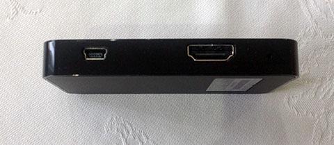 端子(HDMI, mini USB)