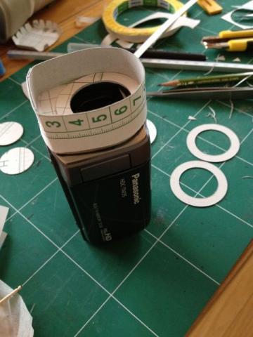 工作用紙で作ってます