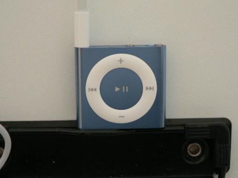 Apple iPod shuffle 2GB ブルー.
