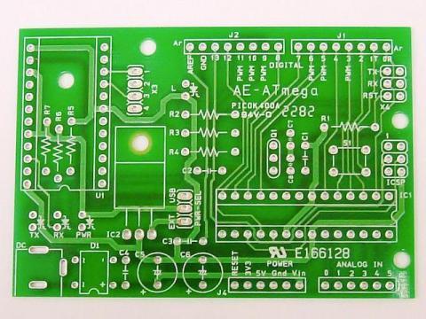 秋月電子通商 AE-ATmega プリント基板
